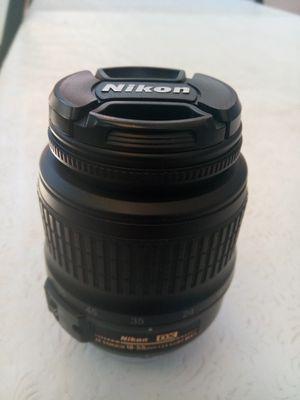 Nikon Nikkor AF-S nikkor 18-55mm 1:3.5-5.6GII ED lense for Nikon cameras for Sale in Santa Ana, CA