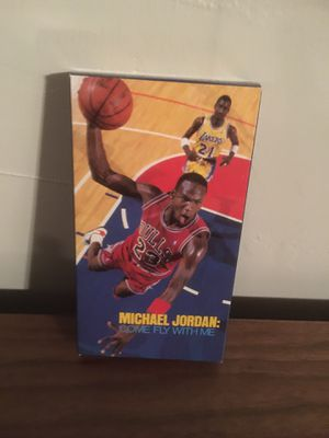 Michael Jordan: Come Fly With Me VHS for Sale in Commack, NY