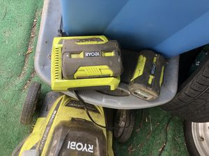 Ryobi electric lawnmower for Sale in Westminster, CA