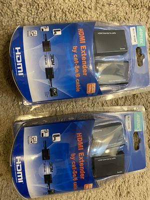 HDMI extenders ( brand new ) for Sale in Charlotte, NC