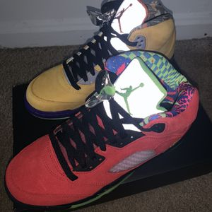 What The 5's (Size 7) $260 for Sale in Fort Washington, MD