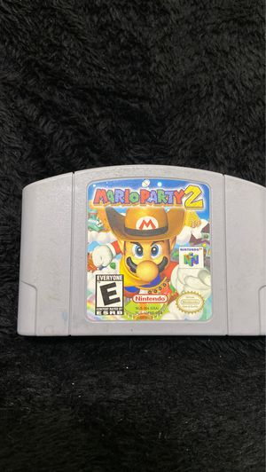 Mario Party 2 N64 for Sale in Temecula, CA