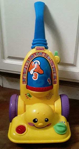 Fisher-Price Laugh & Learn Learning Vacuum Cleaner for Sale in St. Louis, MO