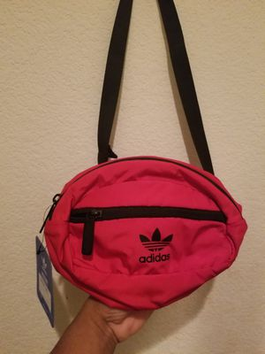"""Red and black """"Adidas waist pack """" for Sale in Stockton, CA"""