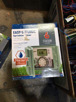 Orbit easy set LoLo c sprinkler timer 6 station for Sale in Garden Grove, CA