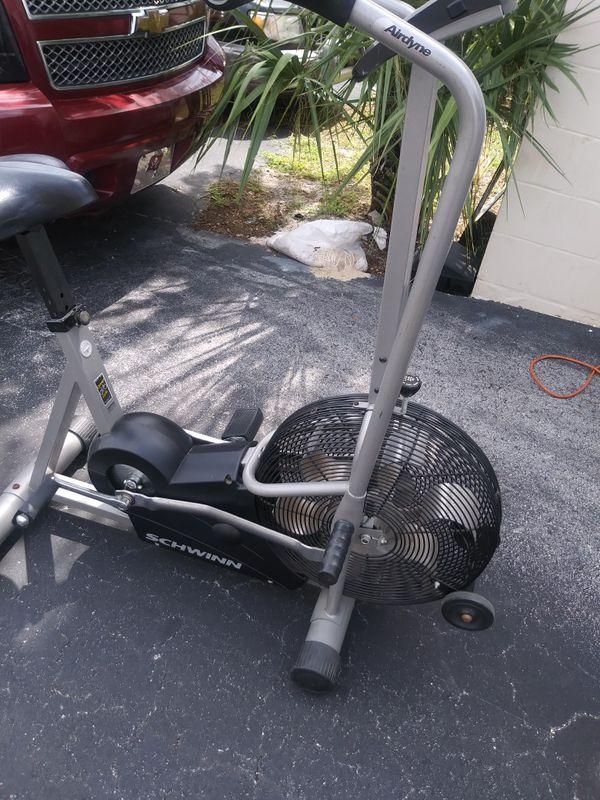Schwinn airdyne comp exercise bike