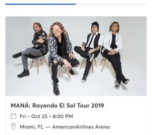 Mana Concert Tickets for Sale in Port St. Lucie, FL
