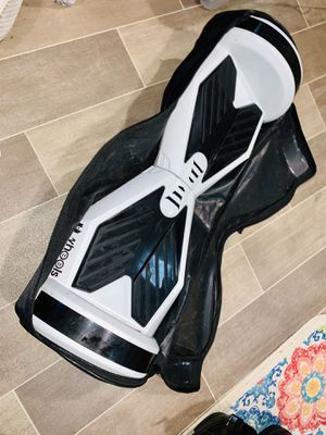 Hoverboard UWheel White/Black Bluetooth Loud Speaker With Carrying Case & Charger for Sale in Seattle, WA