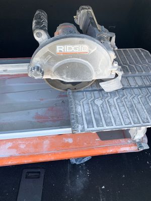 Rigid table saw tile cutter for Sale in Los Angeles, CA
