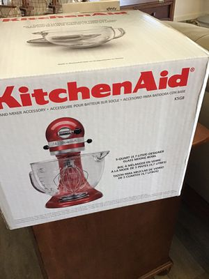 5 quart mixer with accessories for Sale in Vancouver, WA