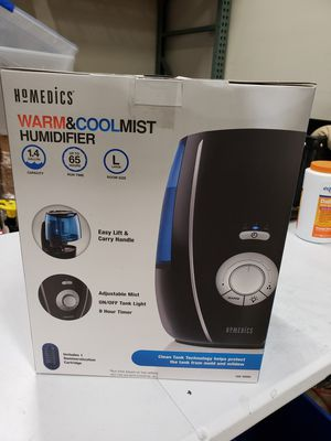 Warm & cool mist humidifier for Sale in Redlands, CA