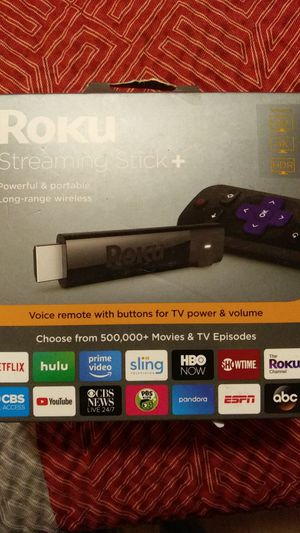 Roku streaming stick + for Sale in Anaheim, CA