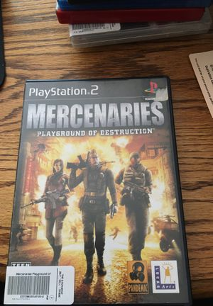 Mercenaries Playground of Destruction for PlayStation 2 for Sale in Lewis Center, OH