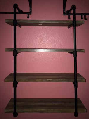 New Industrial Style Piping Shelf for Sale in Las Vegas, NV