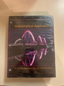 Mathematical Applications Harshbarger, Reynolds 11th Edition for Sale in San Angelo,  TX