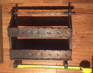 Handmade Folk Art Magazine Rack for Sale in Carlisle, PA