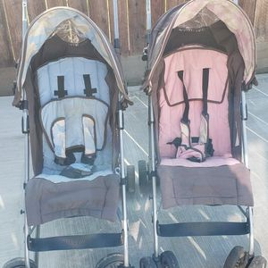 Pink & Blue Strollers for Sale in Reedley, CA