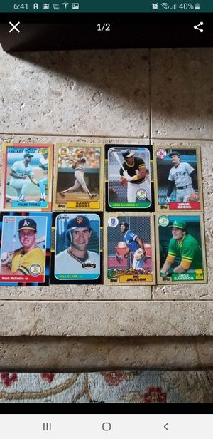 80s baseball cards $30 for Sale in San Jose, CA