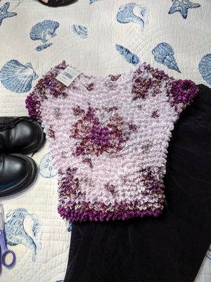 Cute vintage scrunchie top for Sale in Norco, CA