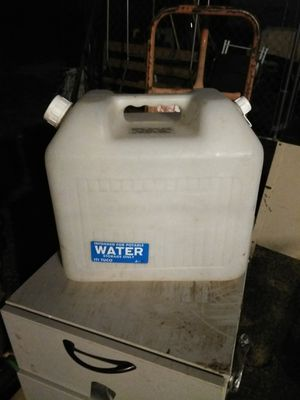 Portable plastic water storage container for Sale in St. Louis, MO