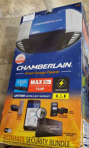 Chamberlain smart garage door opener NEW for Sale in Estill Springs, TN