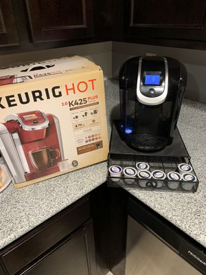 Keurig 2.0 with K-cup storage for Sale in Sanger, CA