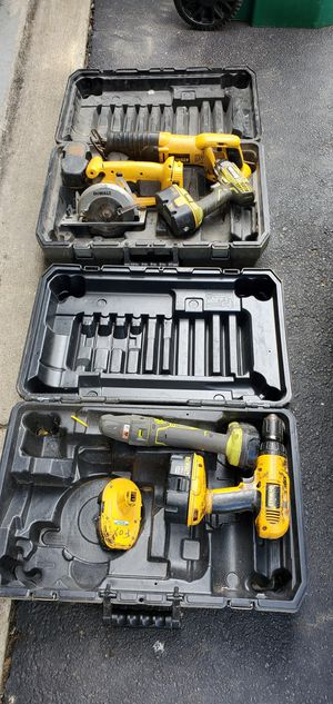 Dewalt and roybi power tools for Sale in CANAL WNCHSTR, OH