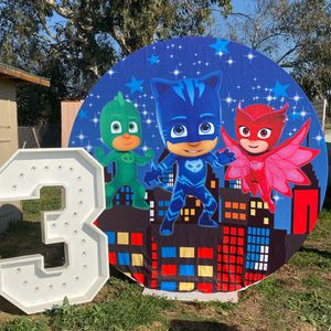 Back drop / theme party / pj masks / lion king / cars / jasmine / moana / whimsical / butterfly / unicorn / frozen / underwater castle / events / dec for Sale in Fontana, CA