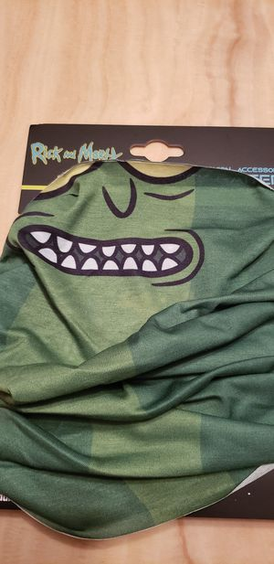 Adult Seim Rick And Morty Pickle Neck Gaiter Face Mask Covering for Sale in Los Angeles, CA
