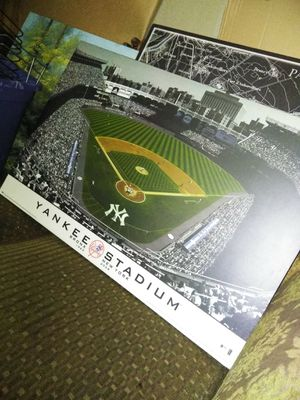 Baseball wall decor no flaws perfect ready to be hung for Sale in Stockton, CA