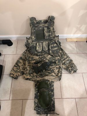 Full Army Camo ACU Paintball/Airsoft Setup for Sale in Rockville, MD