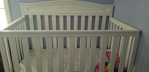 Baby Crib white for Sale in Nashville, TN