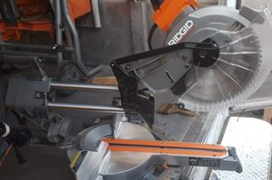 Ridgid 15 Amp Corded 12 in. Dual Bevel Sliding Miter Saw with 70° Miter Capacity R4221☆Pick up only☆ for Sale in Phoenix, AZ
