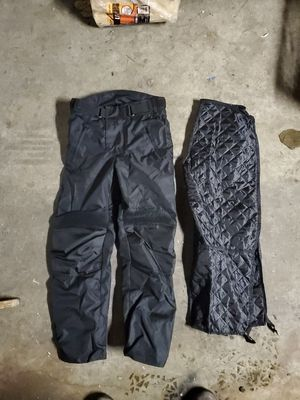 Motorcycle Trousers w/ lined insulation SM for Sale in Seattle, WA