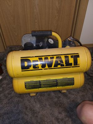 Bad ass portable electric Dewalt air compressor. for Sale in Portland, OR