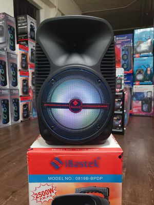 Bosina Nueva Bluetooth Speaker 🎉🎵🎤💥 SPECIAL !!! LED Lights 2500w Karaoke !!! Rechargeable 🔋 +++ New in Box for Sale in Los Angeles, CA