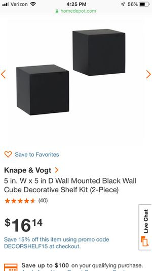 Mounted wall decorative shelves for Sale in Marble Falls, TX