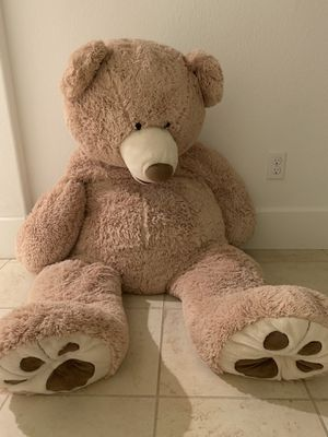 Big/huge teddy bear -stuffed plush animal toy for Sale in Fremont, CA