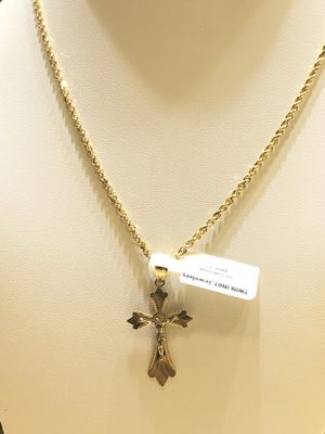10Kt gold chain and charm available on special sale for Sale in Indianapolis, IN
