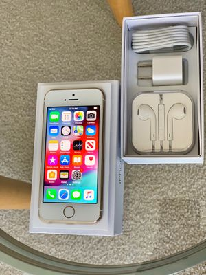 iPhone 5S Factory Unlock 64GB Black OR GOLD for Sale in Glenview, IL