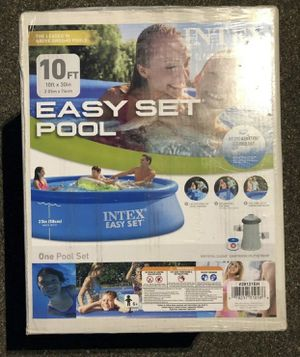In Hand! Intex 10 x 30 Swimming Pool - Blue With Pump for Sale in Pittsburgh, PA