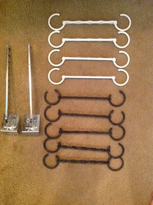 """9 space-saving """"magic hangers"""" for a closet, and 2 space-saving over-the-door hanger holders for Sale in Los Angeles, CA"""