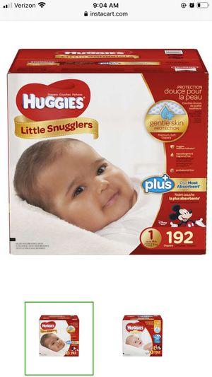 Huggies Little Snugglers SIZE 1 for Sale in Vista, CA