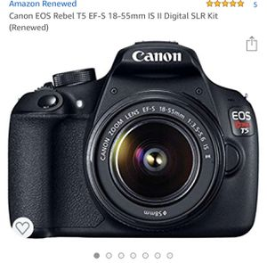 CANON EO5 REBEL T5 for Sale in Austin, TX