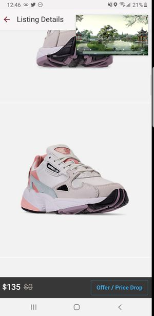 WOMEN'S Adidas Falcon Light Pink/pur/ Gr Size 9 for Sale in Hyattsville, MD