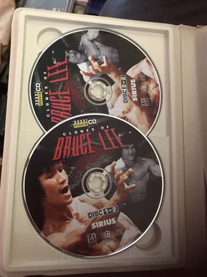 Bruce lee movie 🎥 2 DVDs 📀 cd 💿 classic for older computers for Sale in Miami, FL