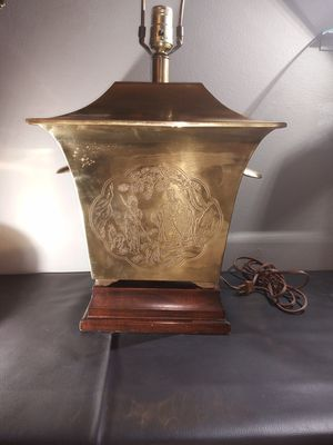 Brass Oriental lamp, vintage for Sale in St. Louis, MO