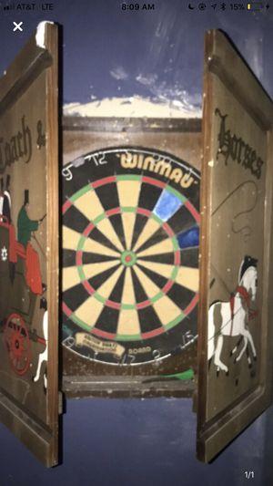 Wooden dart board for Sale in San Angelo, TX