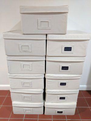 11 Fabric Storage Bins for Sale for sale  Fair Lawn, NJ