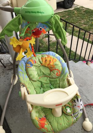 Fisher-Price baby swing. Everything works. for Sale in Salt Lake City, UT